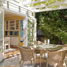traditional patio by Ana Williamson Architect