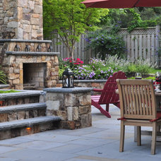 Traditional Patio by Grow Landscapes, Inc.