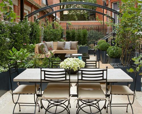 Terrace courtyard home design ideas renovations photos for Courtyard renovation ideas