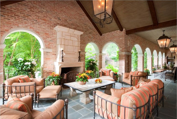 Traditional Patio by Chambers Interiors & Associates, Inc.