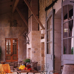 traditional patio by CHRISTINA MARRACCINI Inc.