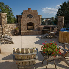 Traditional Patio by Doug Schneller