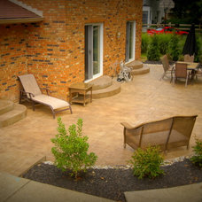 Traditional Patio by Foundation Builders LLC