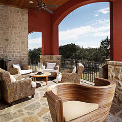 traditional patio by Laura Britt Design