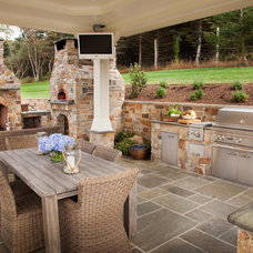 Transitional Patio by Kitchen Designs by Debra