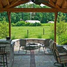 Traditional Patio by JD Design