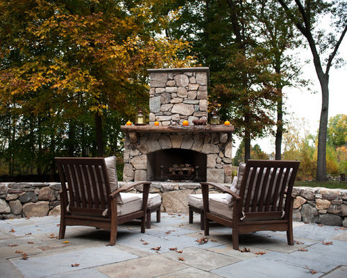 backyard fireplace ideas pictures remodel and decor