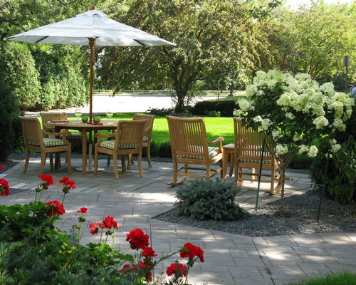 Front yard patios houzz for Front yard patio ideas