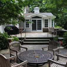 Traditional Patio by Paul Orentlicher, Architect