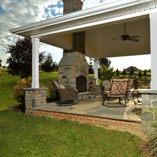 Traditional Patio by Penn Contractors Inc