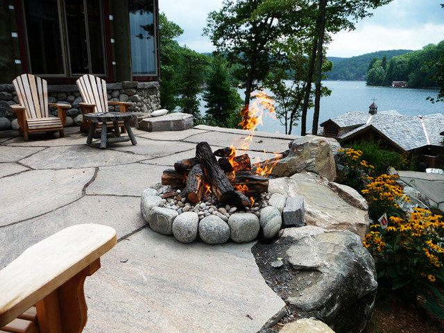 Traditional Patio by The Fireplace Specialist