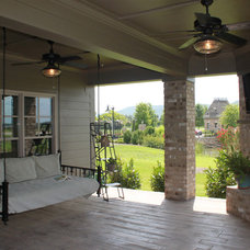 Traditional Patio by The Pugh Group New Home Division