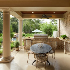 Traditional Patio by Morning Star Builders LTD