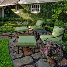 Traditional Patio by Exterior Worlds Landscaping & Design