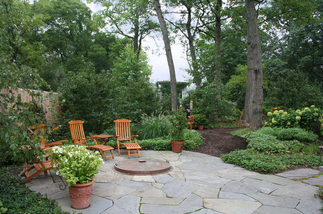 Traditional Patio by Rocco Fiore & Sons, Inc