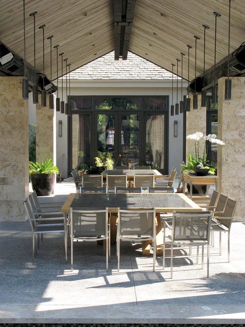 Inspiration For A Contemporary Patio Remodel In San Diego With A Gazebo