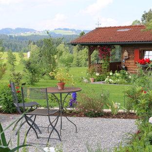 Mittelgroßer Landhaus Patio in Sonstige