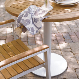Oxford Garden - Travira Bistro Table  - Teak - Teak bistro table. Available in other materials, finishes and sizes.