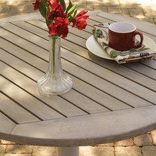 Contemporary Outdoor Tables by Oxford Garden