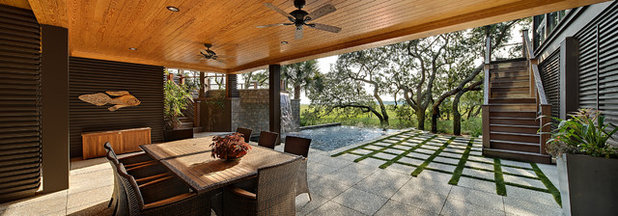 Contemporary Patio by The Anderson Studio of Architecture & Design