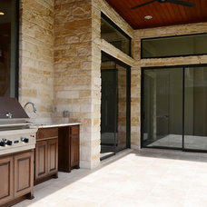 Contemporary Patio by Significant Buildings and Construction