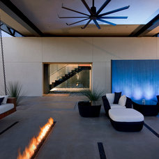 Contemporary Patio by Assemblage Studio