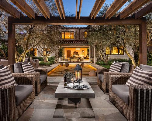 pergola und patio mediterran mediterrane innenhof und patio ideen. Black Bedroom Furniture Sets. Home Design Ideas
