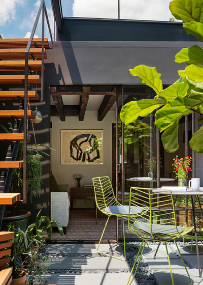 Contemporary Patio by Andrew Franz Architect PLLC