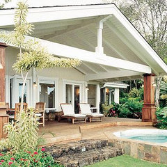 tropical patio Trigg-Smith Architects - Project - An Island Retreat