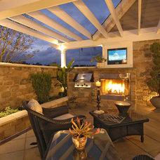Traditional Patio by Clark Turner Homes