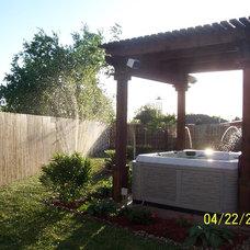 Tropical Patio by Cuttin' It Right Lawn Care LLC
