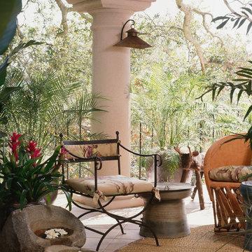 Tropical Hacienda Terrace