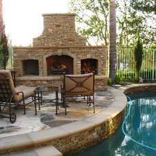 Traditional Patio by Straightline Design, Inc.