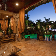tropical patio by SRQ360 Photography