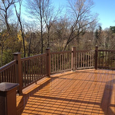 Traditional Patio by Autumnwood Construction Inc.