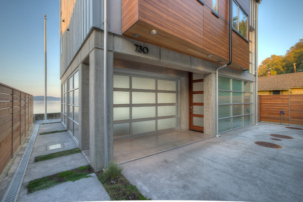 Contemporary Garage And Shed by Dan Nelson, Designs Northwest Architects