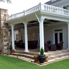 Traditional Patio by Custom Craft Renovations