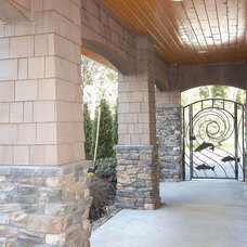 Traditional Patio by Tom Rochon, Designs Northwest Architects