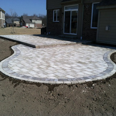 Leveling Patio Pavers Brick Pavers Canton Plymouth Northville Novi Michigan Repair Cleaning