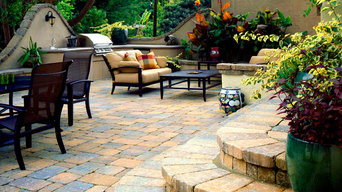 Tumbled Paving Stone Patio