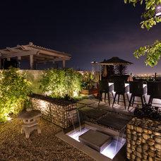 Contemporary Patio by Studio H Landscape Architecture
