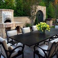 Mediterranean Patio by Great  Falls Distinctive Interiors Inc.
