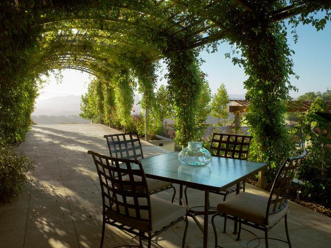 Mediterranean Patio by McKinney Photography