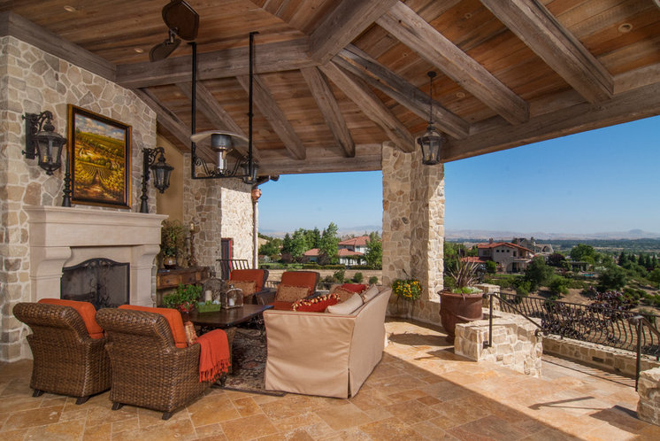 Traditional Patio by Matt Clawson