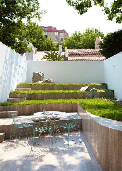 Contemporary Patio by Smart Design Studio