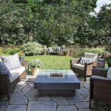 Traditional Patio by TRIO Environments