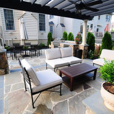 Contemporary Patio by Iris Design Associates