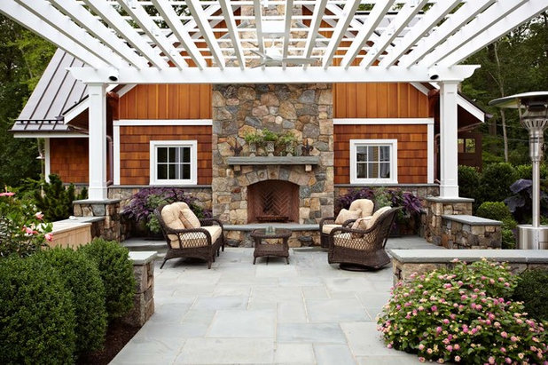 Traditional Patio by TR Design-Build Firm