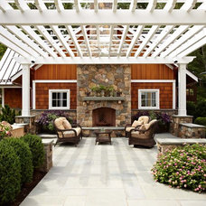 Traditional Patio by TR Building & Remodeling Inc.