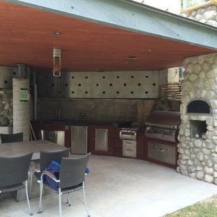 Modern Outdoor Kitchen Houzz